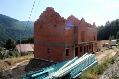 Budowa w trakcie - sierpień 2015
